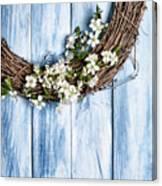 Spring Garland Canvas Print