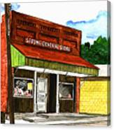 Spring General Store Sharpsburgh Iowa Canvas Print