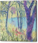 Spring Greeting Canvas Print