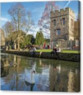 Spring In Canterbury Canvas Print