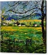 Spring In Herock Canvas Print