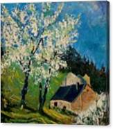 Spring In Hierges  Canvas Print