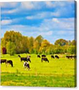 Spring In Holland-1 Canvas Print