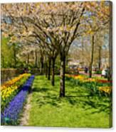 Spring In Keukenhof, Netherlands Canvas Print