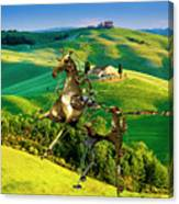 Spring In The Field 1 Canvas Print