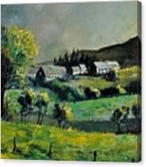 Spring In Voneche  Canvas Print