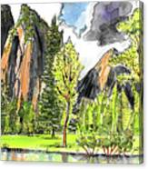 Spring In Yosemite Canvas Print