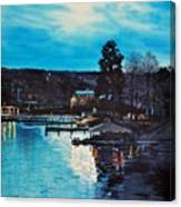 Spring Lake Nocturn Canvas Print