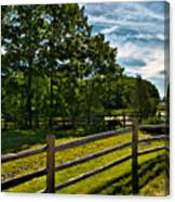 Spring Landscape In Nh 2 Canvas Print