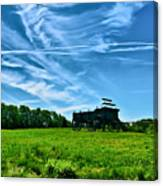 Spring Landscape In Nh 4 Canvas Print