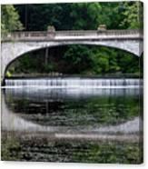 Spring Morning At White Bridge II Canvas Print