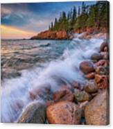 Spring Morning In Acadia National Park Canvas Print