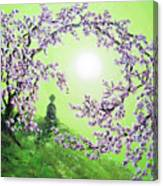 Spring Morning Meditation Canvas Print