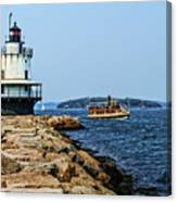 Spring Point Ladge Lighthouse - Maine Canvas Print