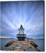 Spring Point Ledge Light Station Canvas Print