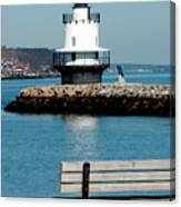 Spring Point Ledge Lighthouse Canvas Print