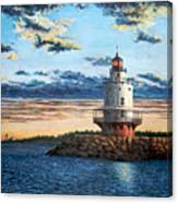 Spring Point Lighthouse Canvas Print