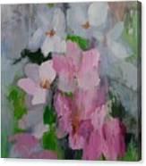 Spring Rain Oil Painting Canvas Print