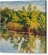 Spring Reflection Canvas Print