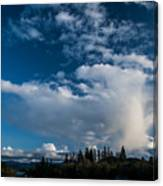 Spring Skies Of The Rogue Valley Canvas Print