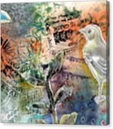 Spring Song Canvas Print
