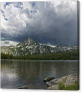 Spring Storm At Anthony Lake Canvas Print