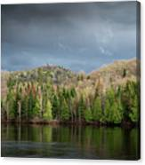 Spring Storm Coming Canvas Print