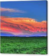 Spring Storm Over Wausau Canvas Print