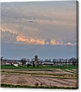 Spring Storms Farm 2 Canvas Print