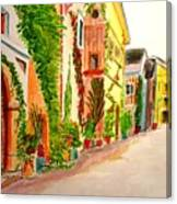 Spring Stroll Canvas Print
