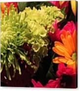 Spring/summer Bouquet - Flowers Canvas Print