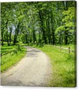 Spring Time In Rural Ohio Canvas Print