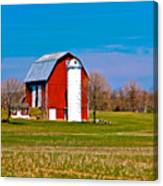 Spring Time On The Farm Canvas Print