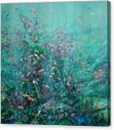 Spring Underwater   Canvas Print