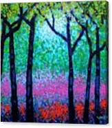 Spring Woodland Canvas Print