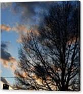 Springfield Evening 2013-02-14 Canvas Print