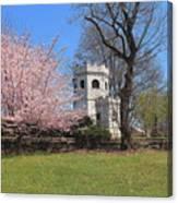 Springtime At The Botanical Garden Canvas Print