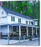 Springtime At The Valley Green Inn Canvas Print
