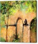 Springtime In Charleston's French Quarter Canvas Print