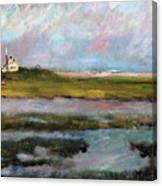 Springtime In The Marsh Canvas Print