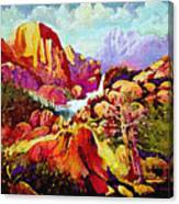 Springtime In The Southwest  Canvas Print