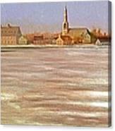 Springtime Lac St Louis Qc Canvas Print