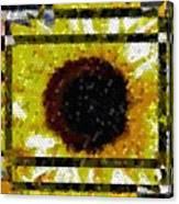 Springtime Mosaic Canvas Print