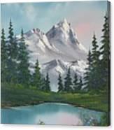 Springtime Mountain Canvas Print