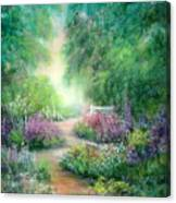 Springtime Walk Canvas Print