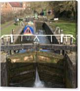 Springwell Lock Rickmansworth Canvas Print