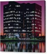 Sprint-metcalf Sunset Canvas Print
