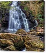 Spruce Flat Falls Canvas Print