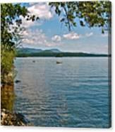 Squam Lake In New Hampshire   Canvas Print
