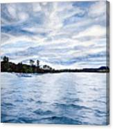 Squam Lake Canvas Print